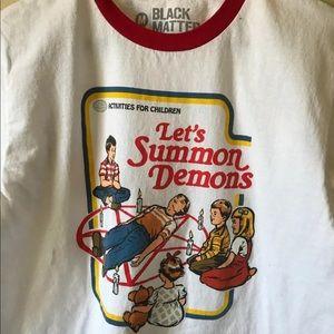 Lets Summon Demons Tshirt Size M